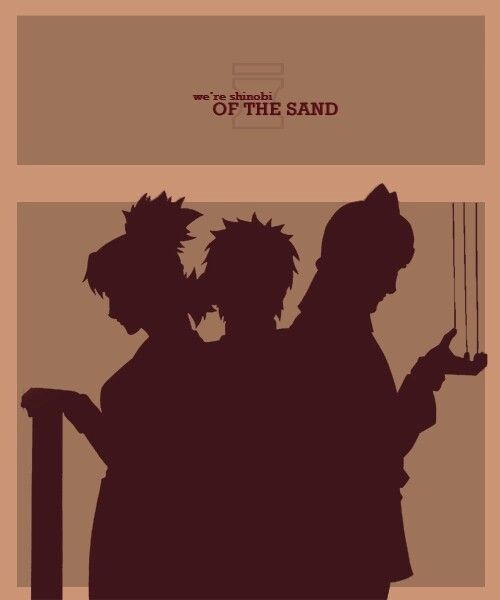 Were Shinobi Of The Sand Text Quote Siblings Temari