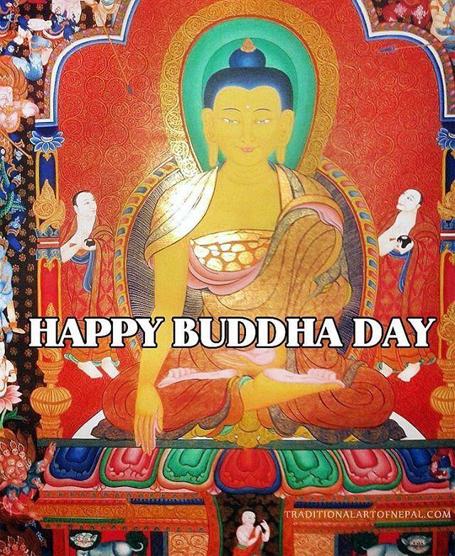 Happy Buddha Day! #buddhapurnima #buddhaday #vesak #buddhism #wesak traditionalartofnepal.com