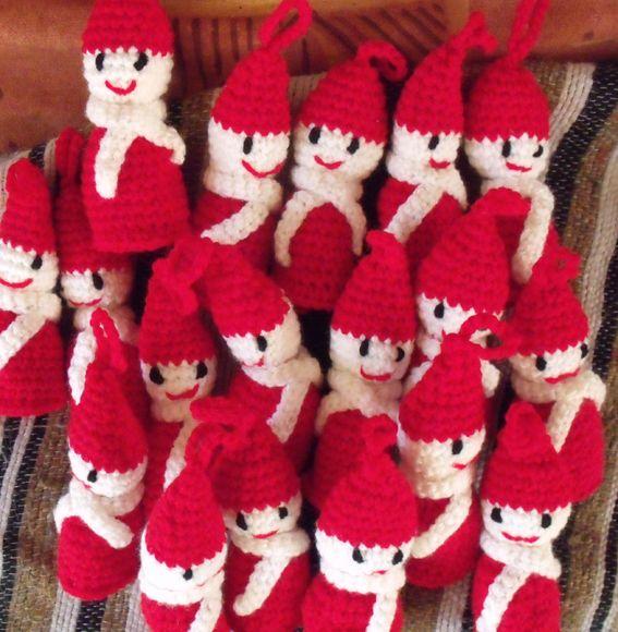 modele tricot noel