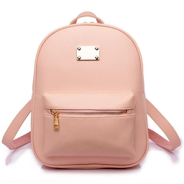 30384889e6b Toposhine Fashion Women Backpack For Girls 2016 Backpacks Black in ...