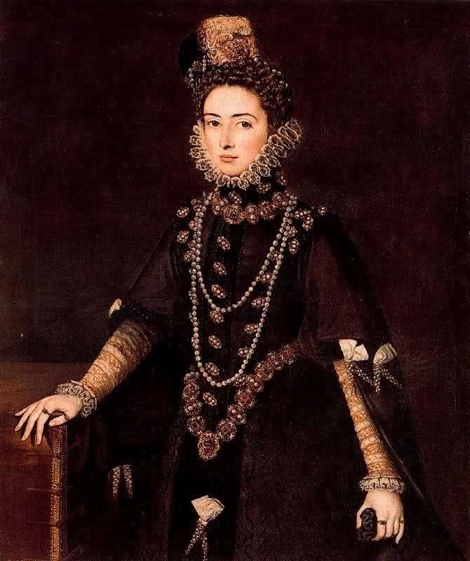 Infanta Catalina Micaela, hija de Felipe II de España.