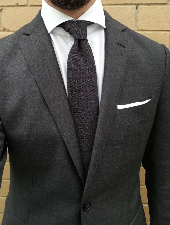 Shades of grey henry carter style pinterest gray for Charcoal suit shirt tie combinations