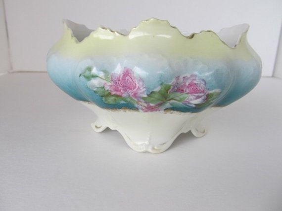MZ Austria Prussia Style Planter c. 1910 by LavoiesPlace on Etsy