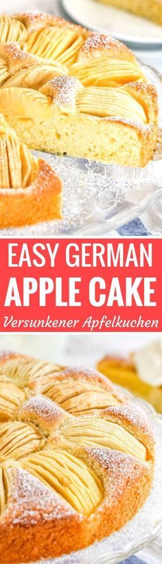 German Apple Cake V German Recipes Pinterest German Apple
