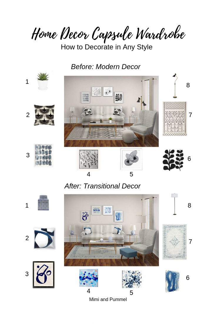 How to decorate in any style Modern classic living room