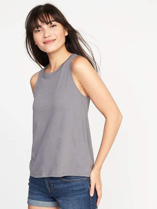 95e2522ec3 Old Navy High-Neck Swing Tank for Women | Products | High neck tank ...