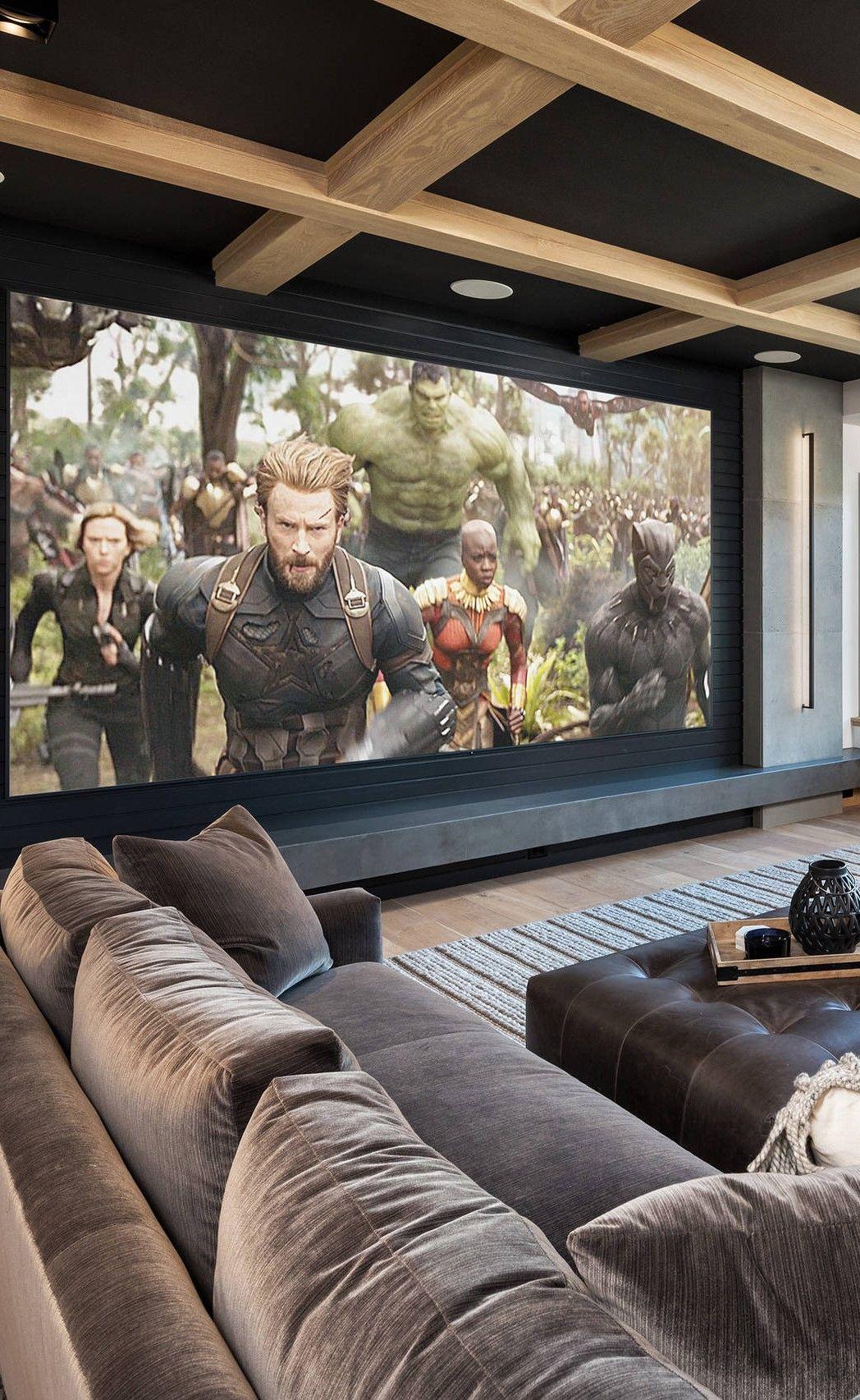 20 Home Theater Media Room Ideas Di 2020