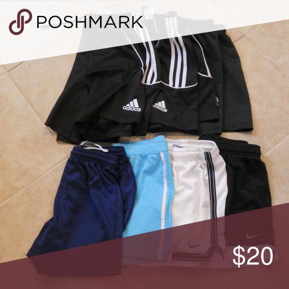 Adidas Girls' Athletic Shorts