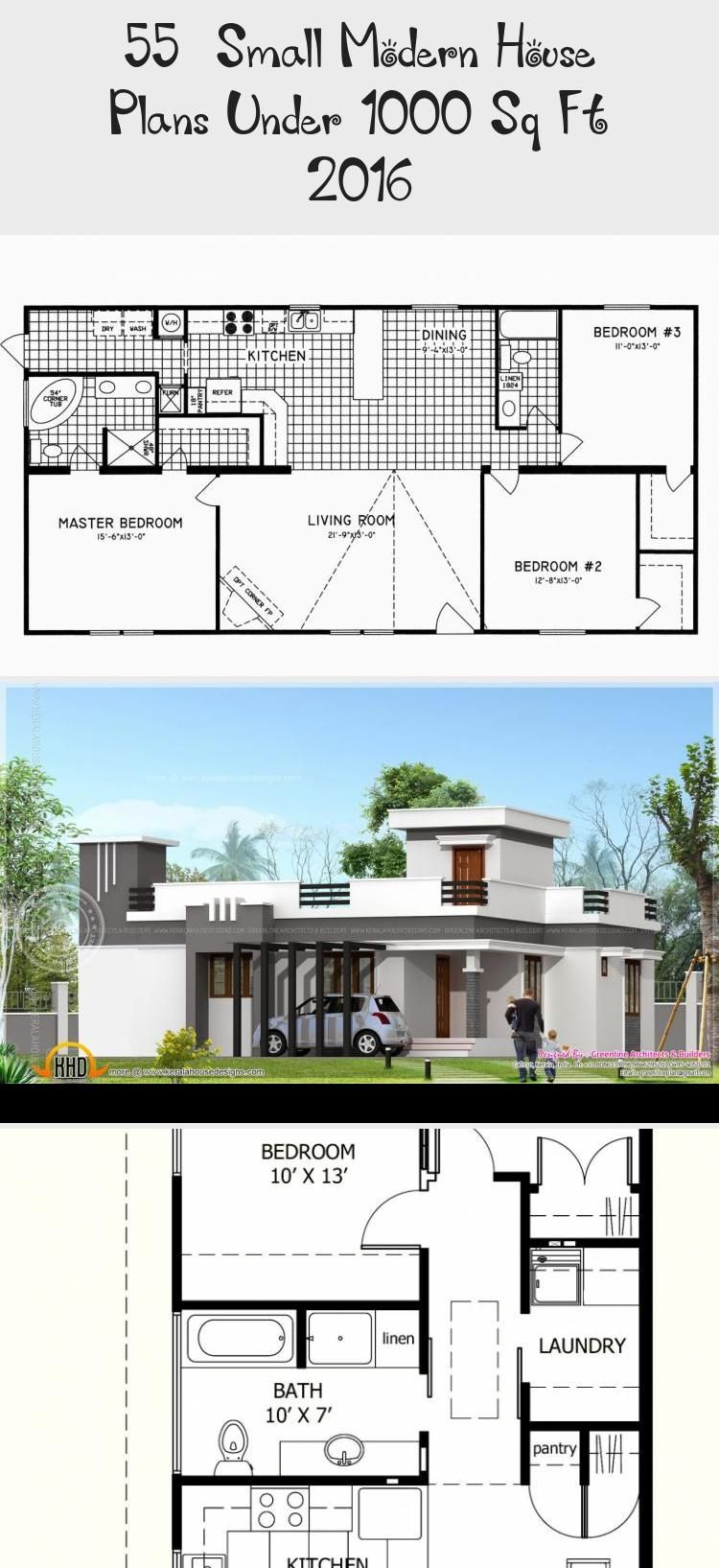 50 Small Modern House Plans Under 1000 Sq Ft 2019 Modernhousesketchinspiration Modernhousesketcharchit Small Modern House Plans Small Modern Home House Plans