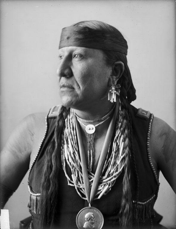 Paw Nee Indians Bacon Rind Osage 1900