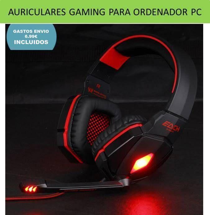 comprar auriculares gaming
