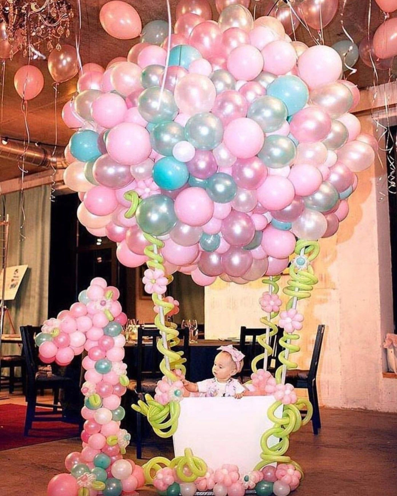 Pin de kelly fluker en Balloon Backdrops | Pinterest | Cumple, Globo ...
