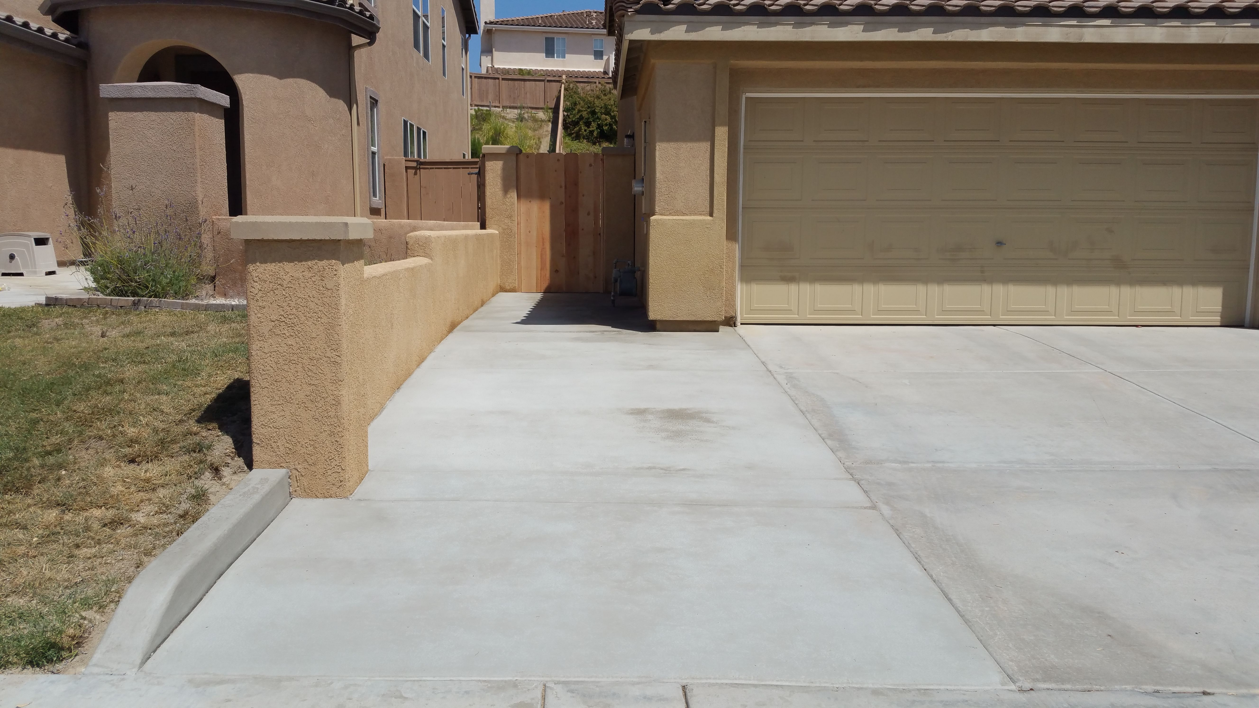 Retaining Wall Concrete Driveway Agundez Concrete