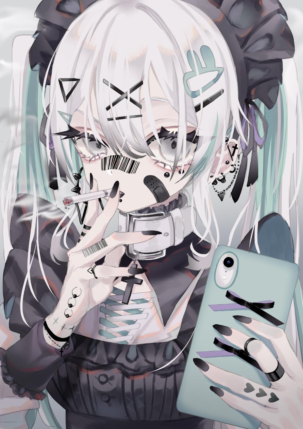 Girl emo anime Best 43+