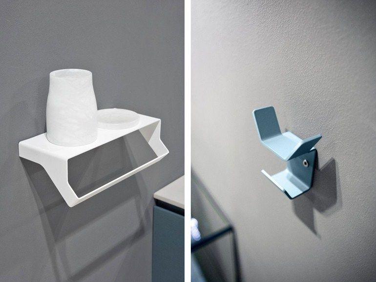 Accessori bagno in acciaio : porta asciugamani mensola bagno in