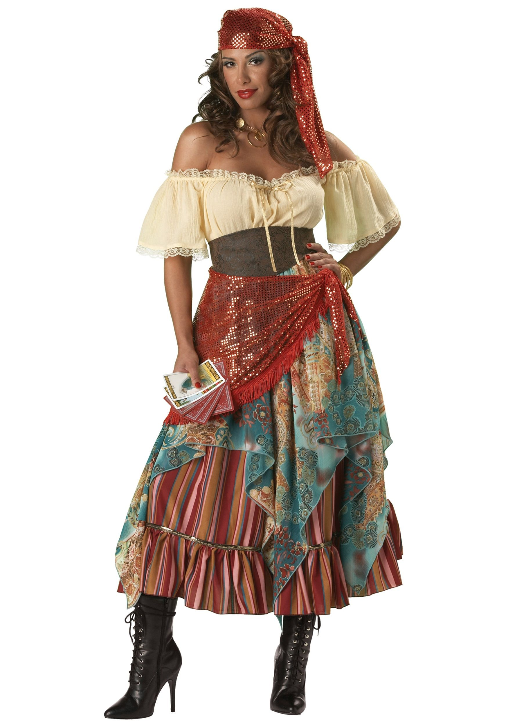 Gypsy Costume Gypsy Costume Fortune Teller Adult A Gypsy Costume is a great idea for Halloween. A child of any age or an adult can dress as a gypsy.  sc 1 st  Pinterest & halloween costume viking women | Home u003e Halloween Costume Ideas ...