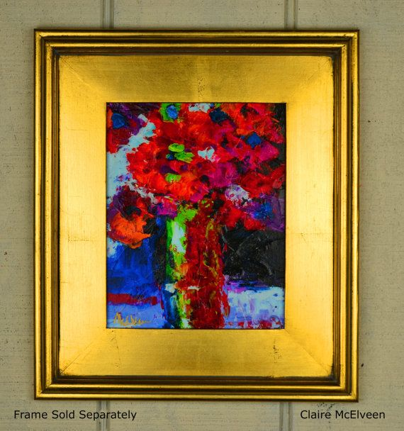 American+Abstract+Floral++Painting+Bright+by+MCELVEENORIGINALS,+$38.00