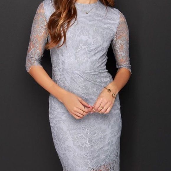 LACE DRESS Brand new never worn. Nasty Gal Dresses Long Sleeve