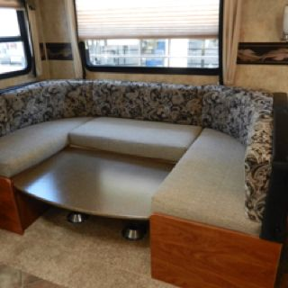 flagstaff camper wiring diagram changing the dinette to a queen bed kitchen island with  changing the dinette to a queen bed kitchen island with