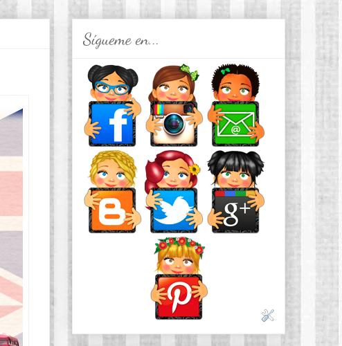 Diseño e Ilustración de varios Iconos para redes sociales... Proyecto personal!!!