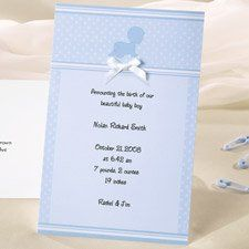 create your own beautiful baby shower invitations or announcements