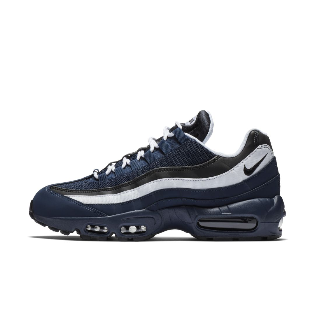low priced a0e14 76f25 Nike Air Max 95 Essential Men s Shoe Size 8.5 (Midnight Navy)