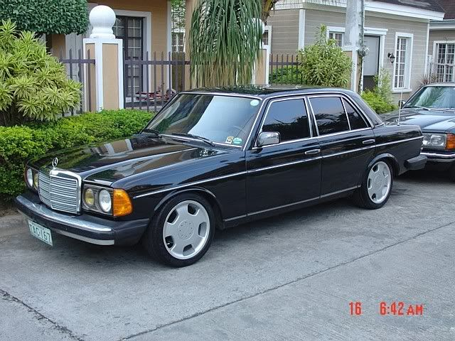 Mercedes W123 985 300d Turbo At 17 D93s And Hnr Springs Mercedes W123 Mercedes Mercedes Benz