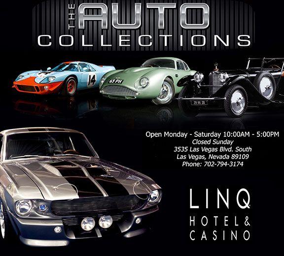 The Auto Collections LINQ Hotel Casino Las Vegas Nevada Las - Linq car show