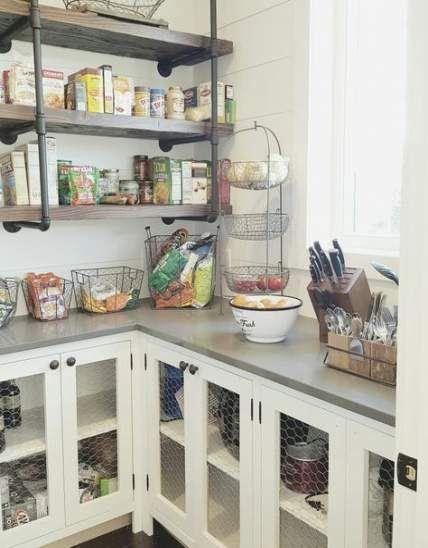 kitchen shelves instead of cabinets chicken wire 40 ideas on kitchen shelves instead of cabinets id=92787