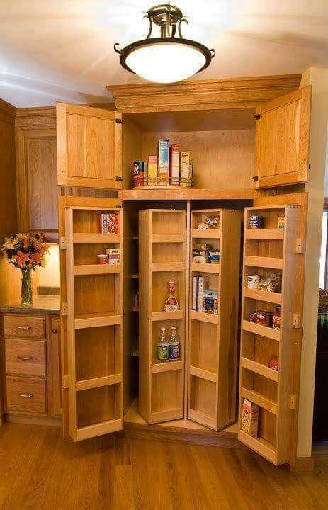 Great pantry Kitchen Remodel Pinterest Cocinas, Despensa y Repisas