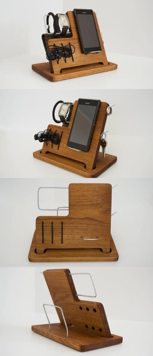 The best personalized gift for a beloved man – Charging Station, Gifts for Him, Gifts for boss gift, Valentines gift ideas