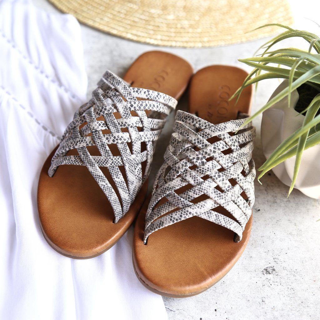 d77c36426d1f Coconuts by matisse - zelda woven slide sandal - grey
