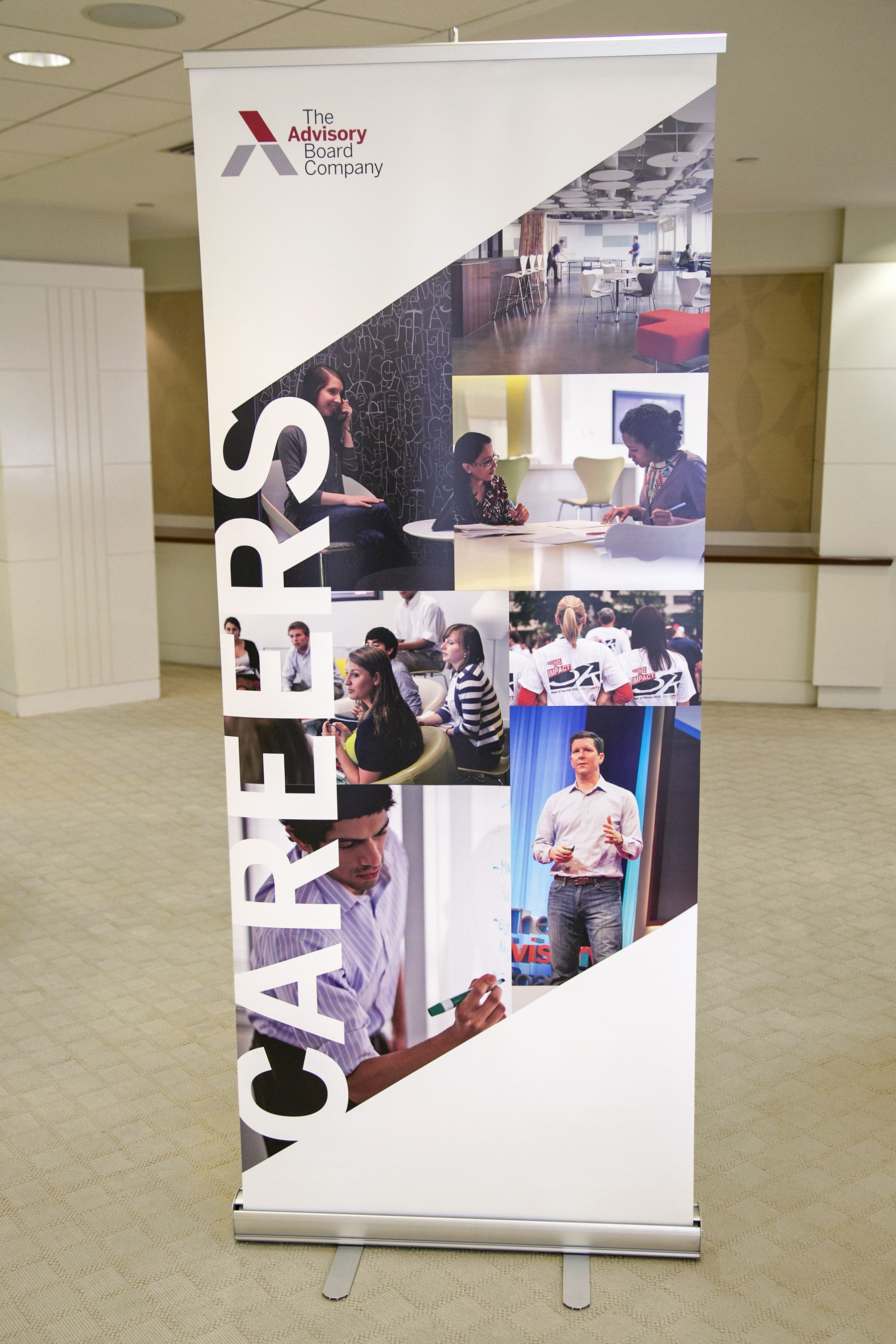 Career Management PopUp Banner Tradeshow Inspiration Signage - Vinyl banners and signsexhibitiondisplay signs pvc banners roller banners flag
