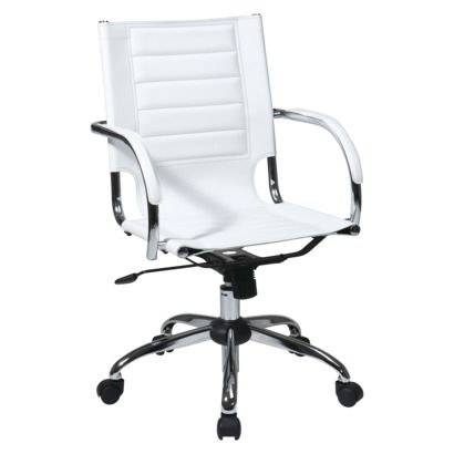 Office Star White Trinidad Desk Chair Target Out Of Stock Online