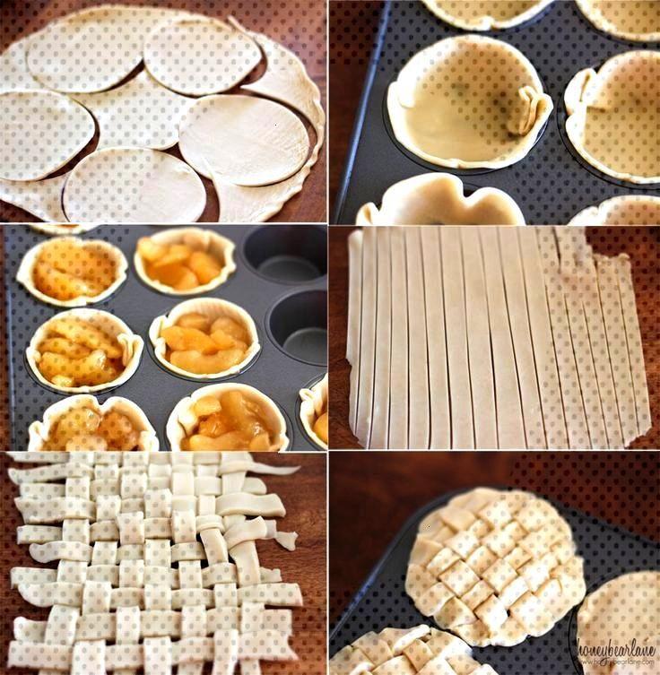 Easy Mini Apple Pies - Desserts -