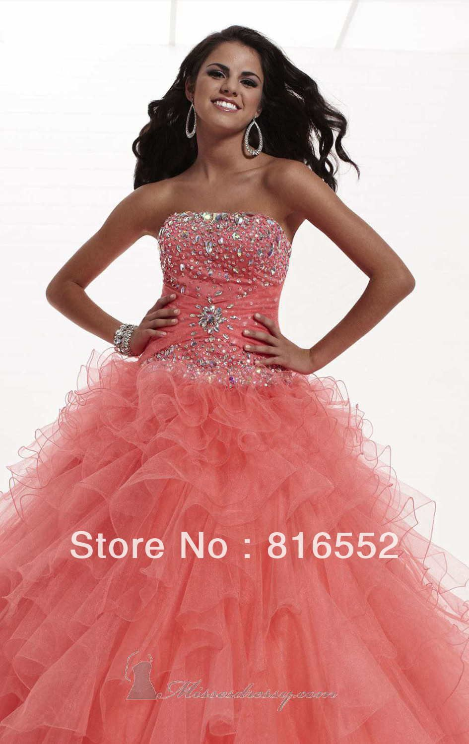 Find More Prom Dresses Information about 2014 New Style LR00100 Color size can be customized Elegant Beaded with Layered ruffle Floor Length Prom dress,High Quality can can fancy dress,China can you dye dresses Suppliers, Cheap can you dye a dress from Julia wedding dress co., LTD on Aliexpress.com