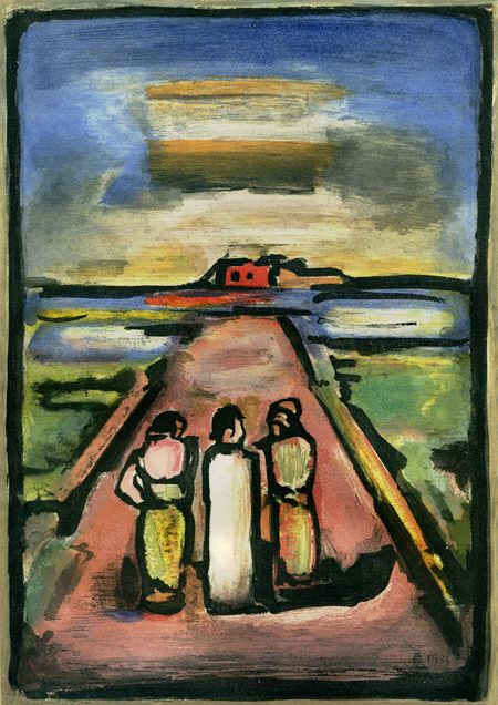 """Anyone can revolt. It is more difficult silently to obey our own inner promptings, and to spend our lives finding sincere and fitting means of expression for our temperament and our gifts"" - Georges Rouault"