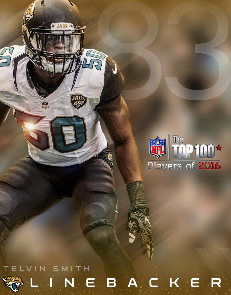 Telvin Smith 2016 NFL Top 100 Pinterest