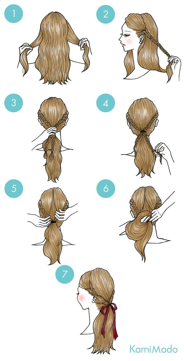40 Peinados Super Lindos Y Faciles 編み込みショートヘア 短い髪のためのヘアスタイル 髪型画像