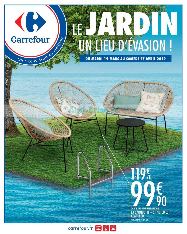 Fauteuil Jardin Carrefour Di 2020