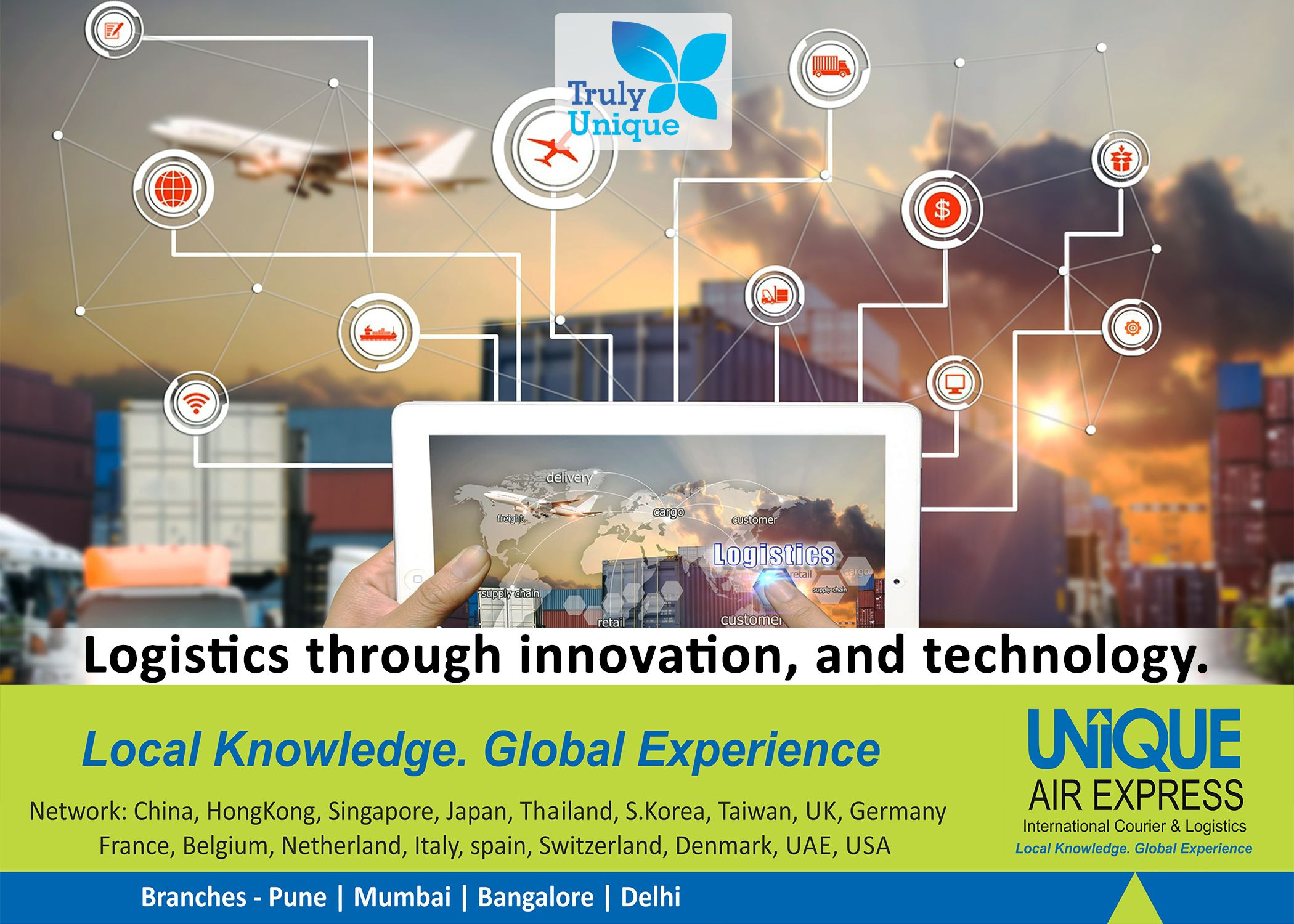 We #Believe in #Logistics through #Innovation and