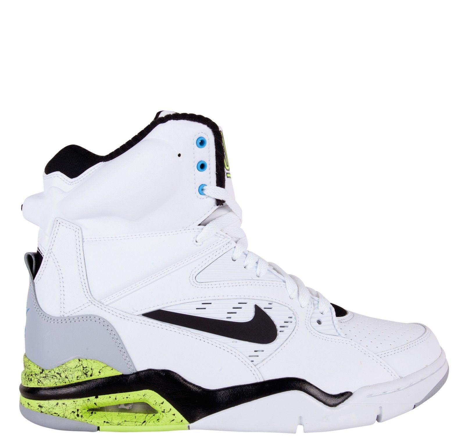 Nike Air Command Force OG White Black Wolf Grey Volt