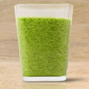 GreenSmoothie - 2 cups Fresh Express Baby Spinach 1 Cucumber, peeled and chopped 1 Apple, peeled, cored and chopped 1 cup Honeydew Melon, peeled and chopped ½ cup ice