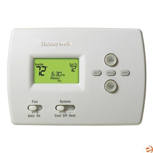 TH4110D1007 PRO 4000 5-2 Day Programmable Thermostat, Heat/Cool or