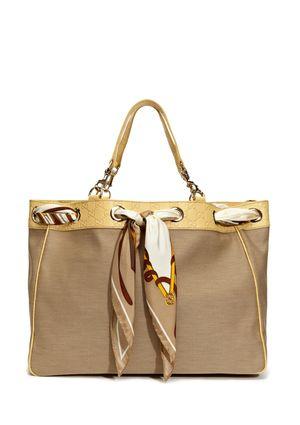 GUCCI Large Positano Bag with Scarf