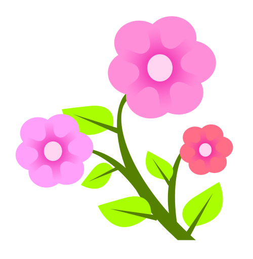 Flowers Vector Png Image Vector Flowers Flower Clipart Png Images