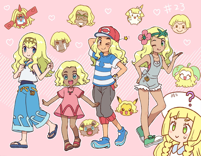 Haircut styles in pokemon sun and moon sarah barlow ladyofthelake on pinterest
