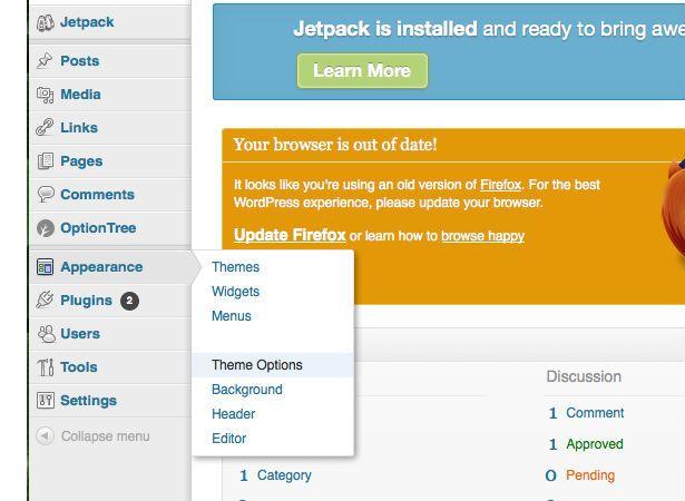Creating a custom WordPress theme options page | Wordpress, Create ...
