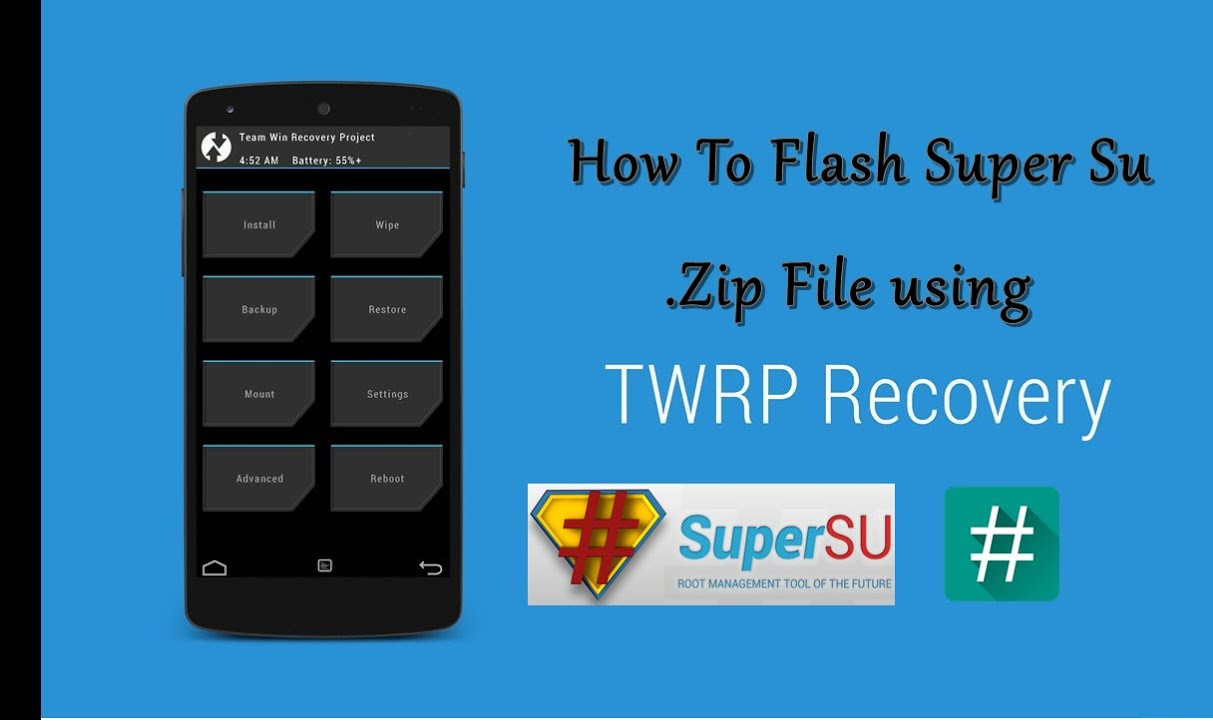 Download And Install SuperSU And Root The Android Device