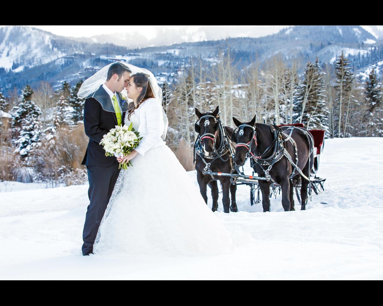 Winter Wonderland Wedding at Waldorf Astoria Park City ...